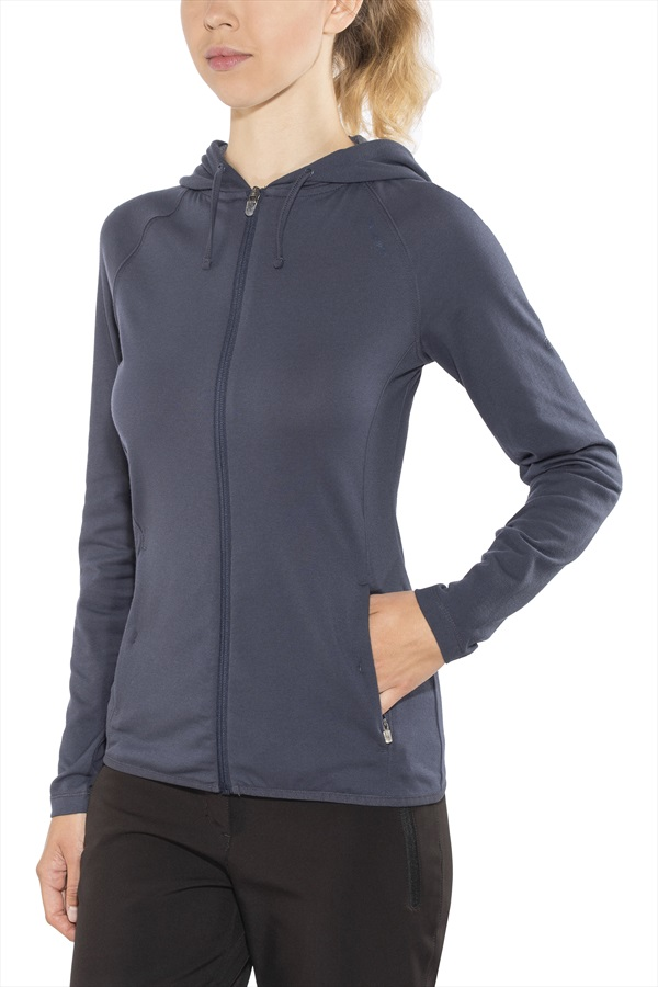Craghoppers NosiLife Sydney Hooded Top : UK 10, Soft Navy