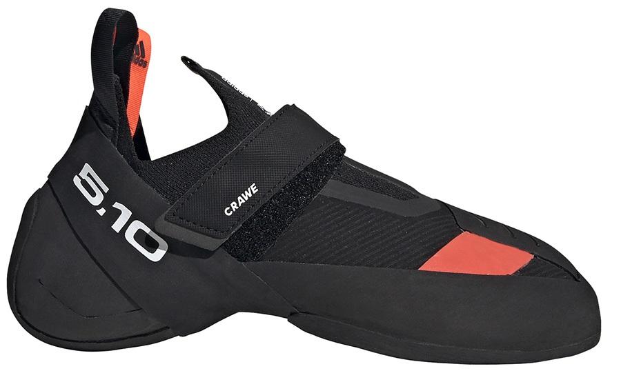 Adidas Five Ten Crawe Rock Climbing Shoe, UK 10 | EU 44.7 Black/White