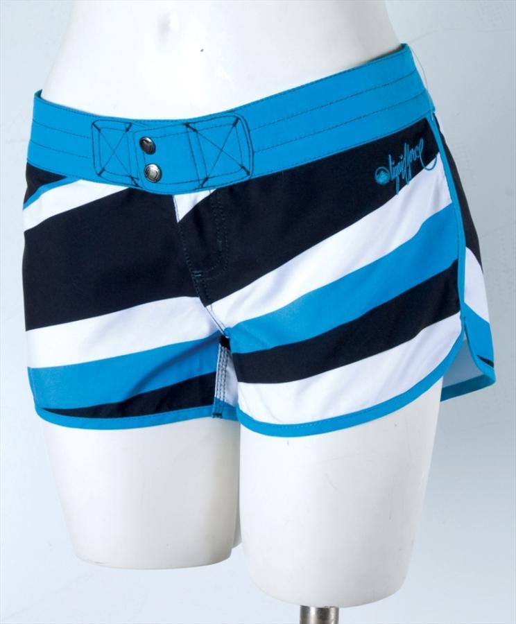 Liquid Force Burst Board Shorts, UK 8 US 4 Eur 36 Blue