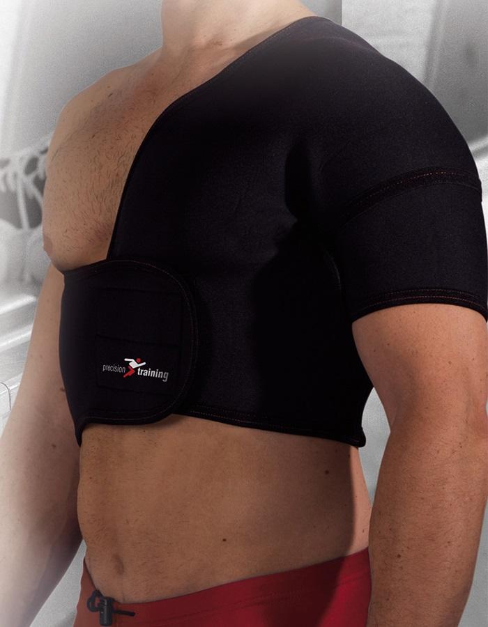 Precision Neoprene Left Shoulder Support S Black
