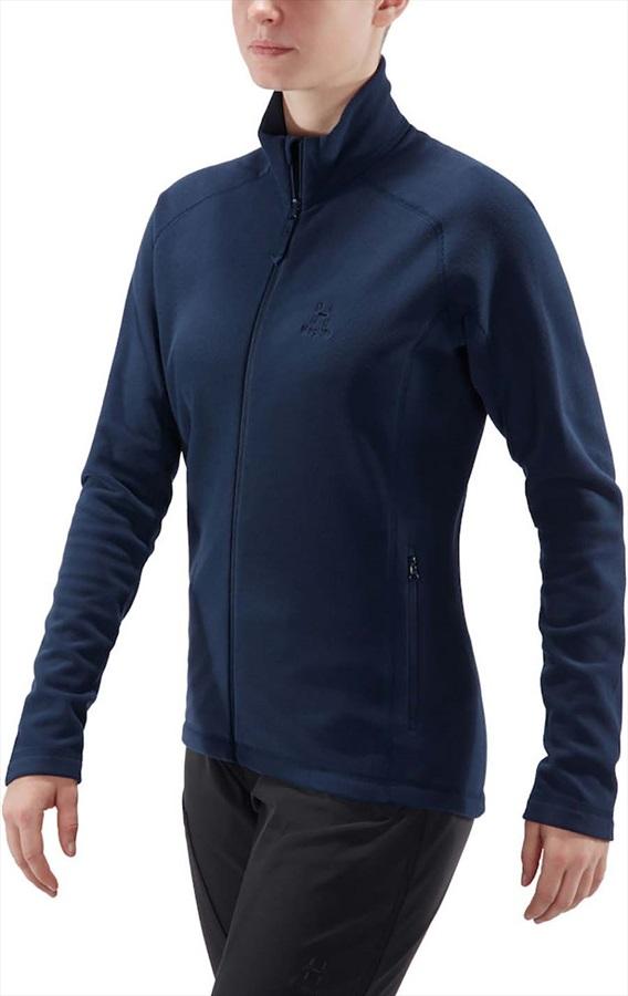 Haglofs Astro Women's Microfleece Jacket, UK 12 Tarn Blue