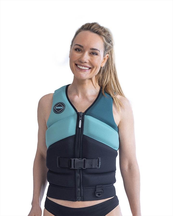 Jobe Unify Women's Buoyancy Aid Life Vest, M Vintage Teal 2021