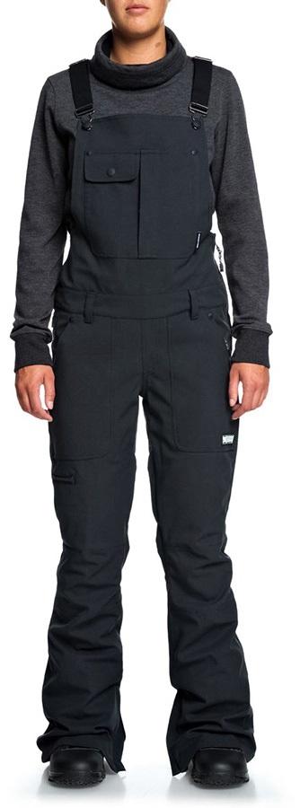 DC Collective Women's Ski/Snowboard Shell Bib Pants XS Black