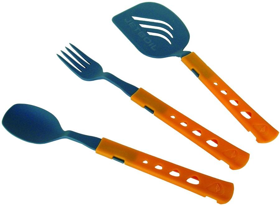 Jetboil Jetset Utensil Kit 3 Piece Cookware Set One Size Orange