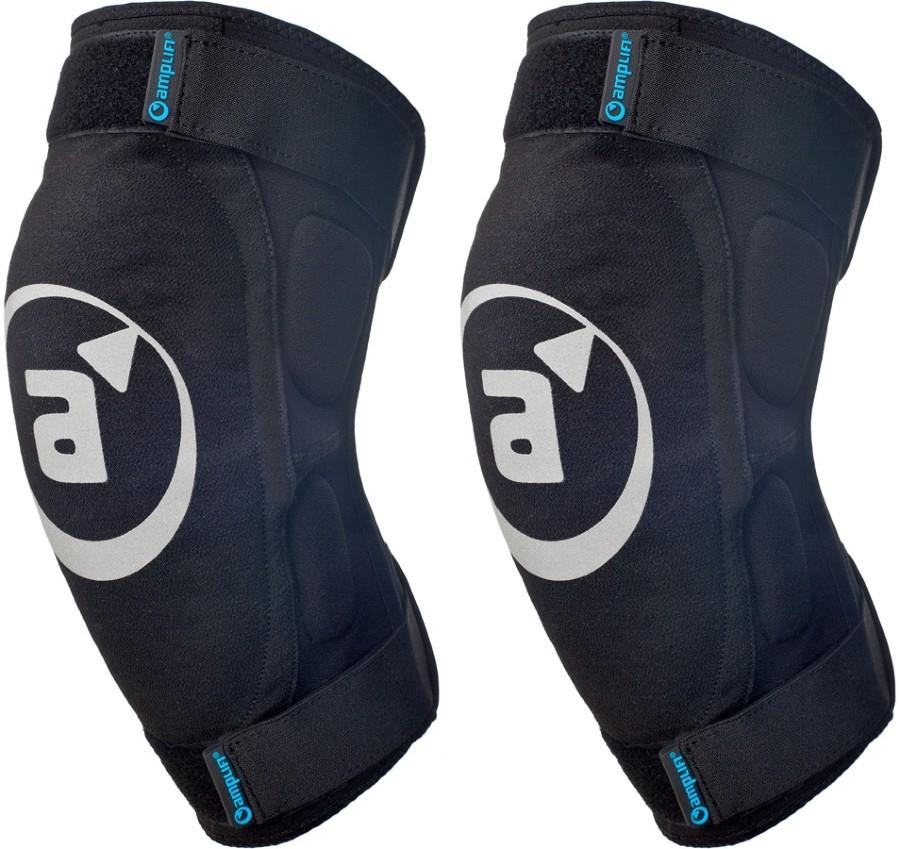 Amplifi Salvo Ski/Snowboard Knee Pads, M Black