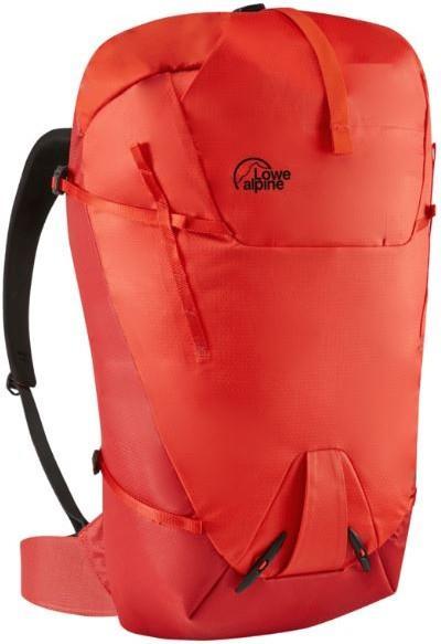 Lowe Alpine Uprise 30:40 Medium Climbing Backpack, Fire