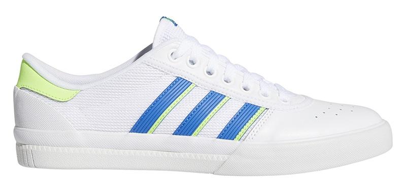 Adidas Lucas Premiere, UK 7 White/Blue/Green