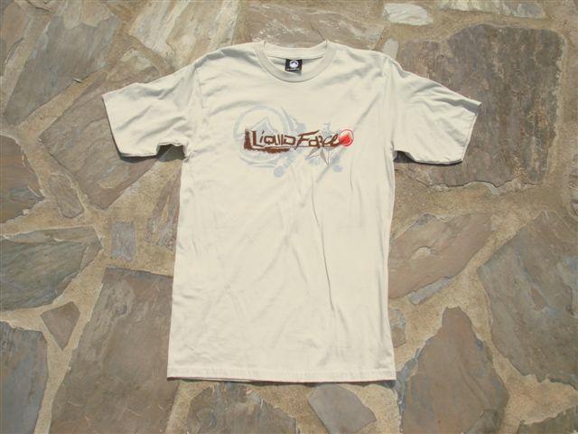 Liquid Force Broken SS Knit T Shirt XL Stone