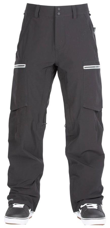 Bonfire Adult Unisex Ranger 3l Neoshell® Stretch Ski/Snowboard Pants, L Black