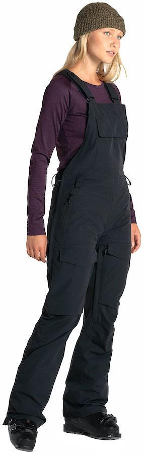 Armada Cassie Overall Women's Ski/Snowboard Bib Pants, S Black
