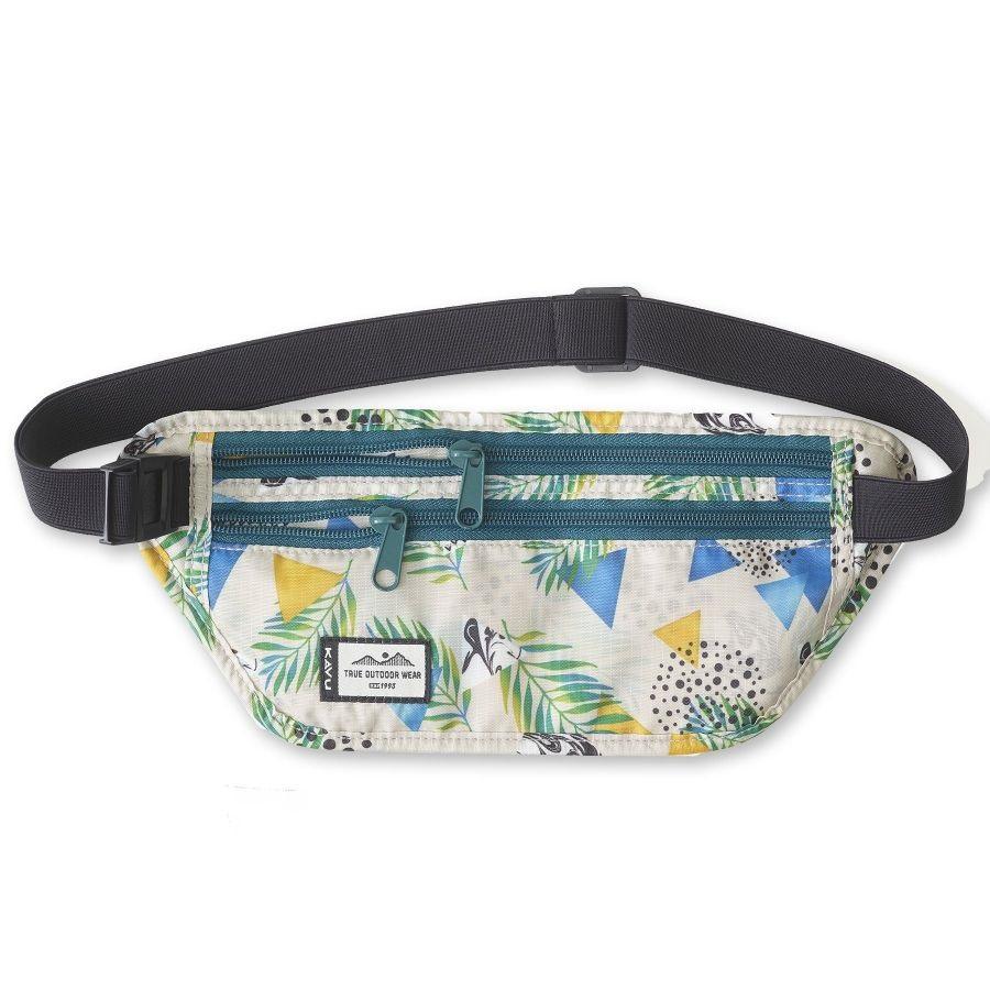 Kavu Hideaway Money Belt Waist / Bum Bag 1L Mirage