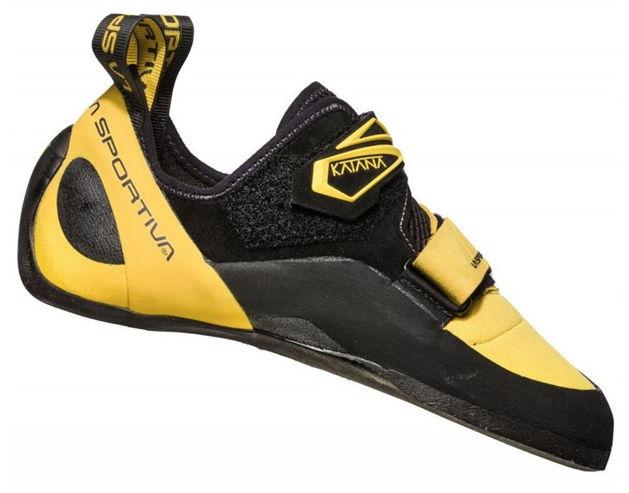 La Sportiva Katana Rock Climbing Shoe - UK 10 | EU 44.5, Yellow