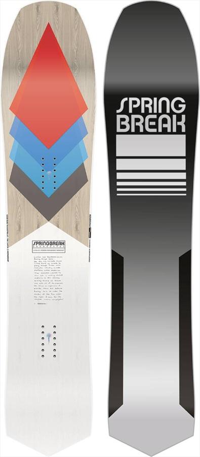Capita Spring Break Diamond Tail Surf Rocker Snowboard, 154cm 2021