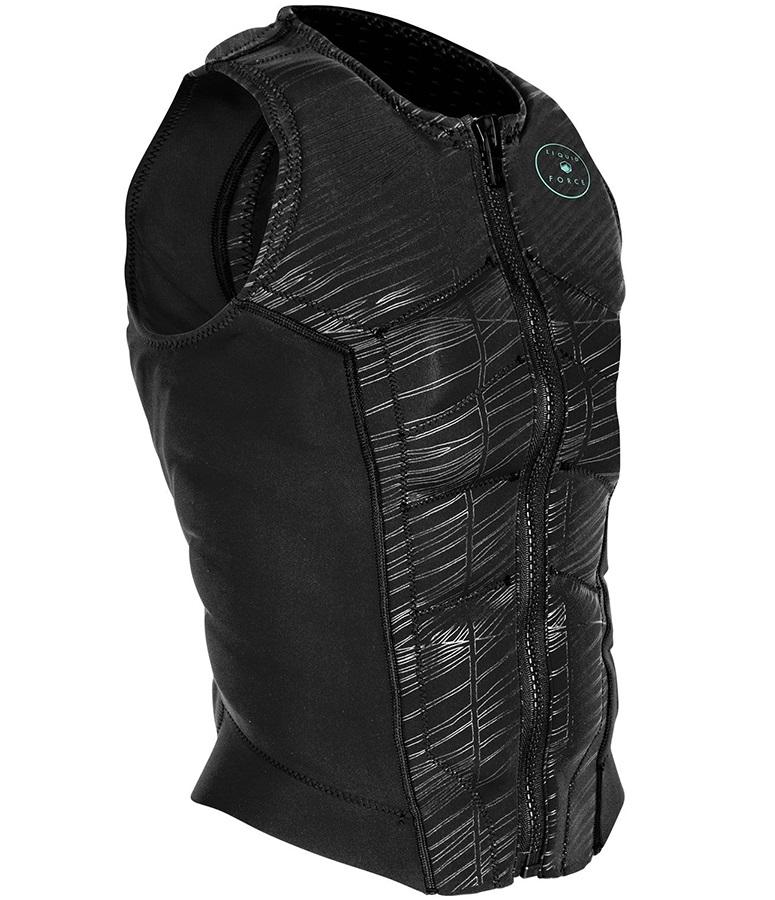 Liquid Force Ghost Comp Ladies Wakeboard Impact Vest, XS Black 2021