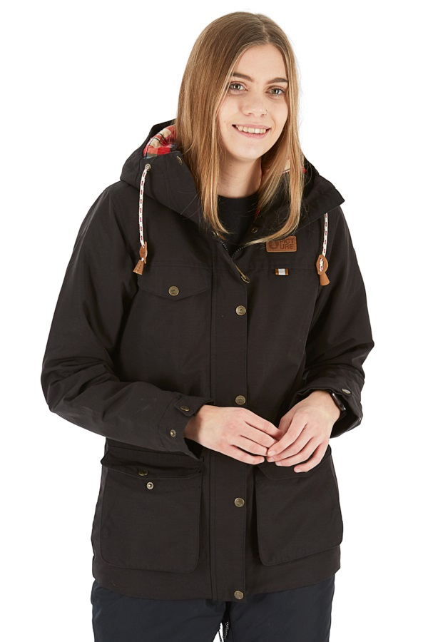 Picture Kate Women's Ski/Snowboard Jacket, S Black