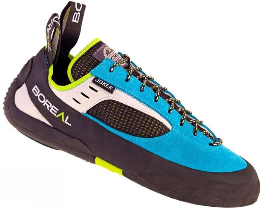 Boreal Women's Joker Lace Rock Climbing Shoe :UK 6.5 | EU 40, Blue