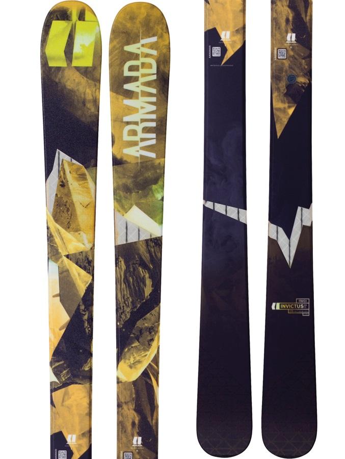 Armada Invictus 89Ti Skis 179cm Black/Yellow Ski Only 2018