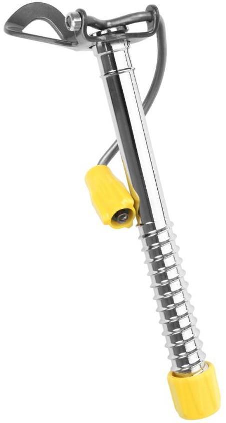 Grivel 360 Ice Screw Easy Rack Climbing Ice Screw L Yellow