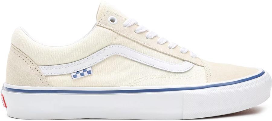 Vans Skate Old Skool Trainers/Shoes, UK 7 Off White