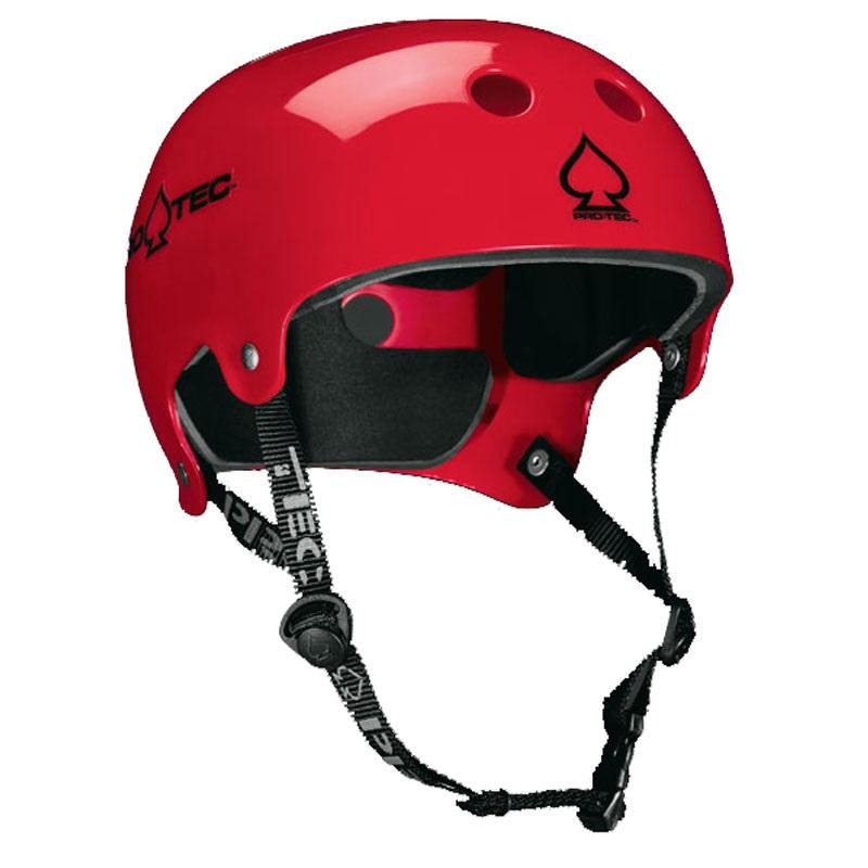 Pro-tec Old School Wake Watersports Helmet XL Gloss Red