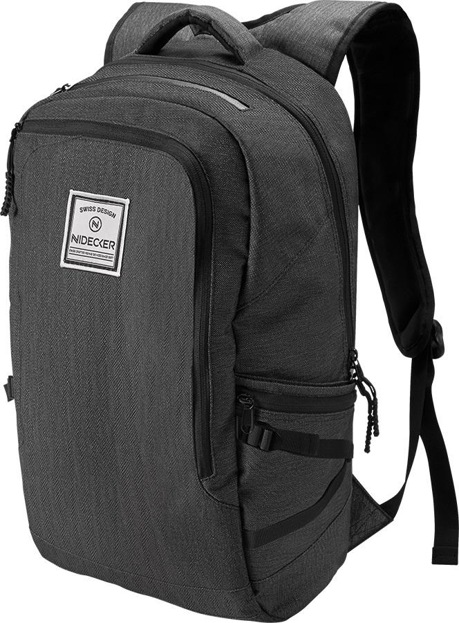 Nidecker Urban Explorer Everyday Casual Backpack, 32L Black