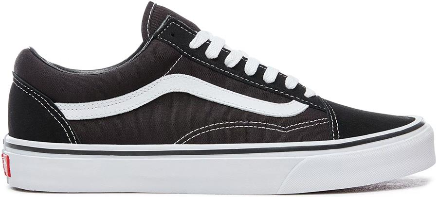 Vans Old Skool Skate Shoes, UK 9.5 Black/White