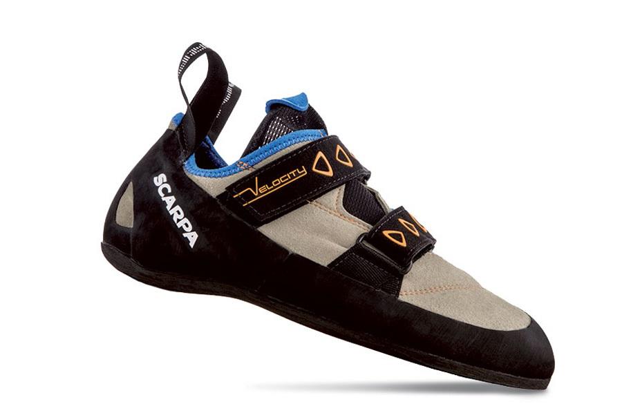 Scarpa Velocity Rock Climbing Shoe UK 9.5 | EU 44 Grey/Blue