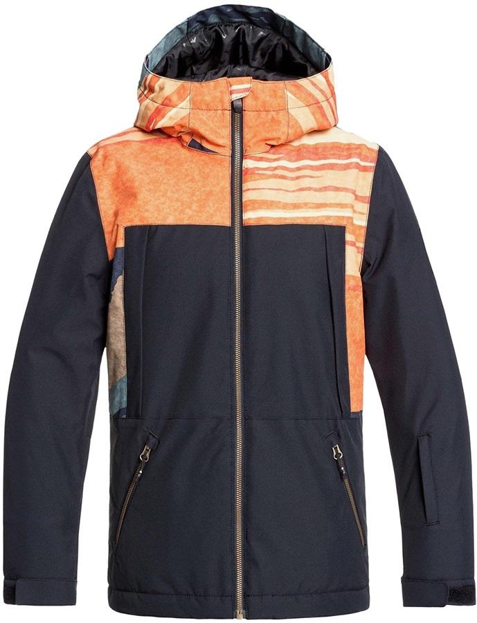 Quiksilver Tr Ambition Kid's Ski/Snowboard Jacket, Age 12 Sunrises