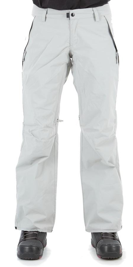 686 Standard Shell Women's Snowboard / Ski Pants, L Lt Grey