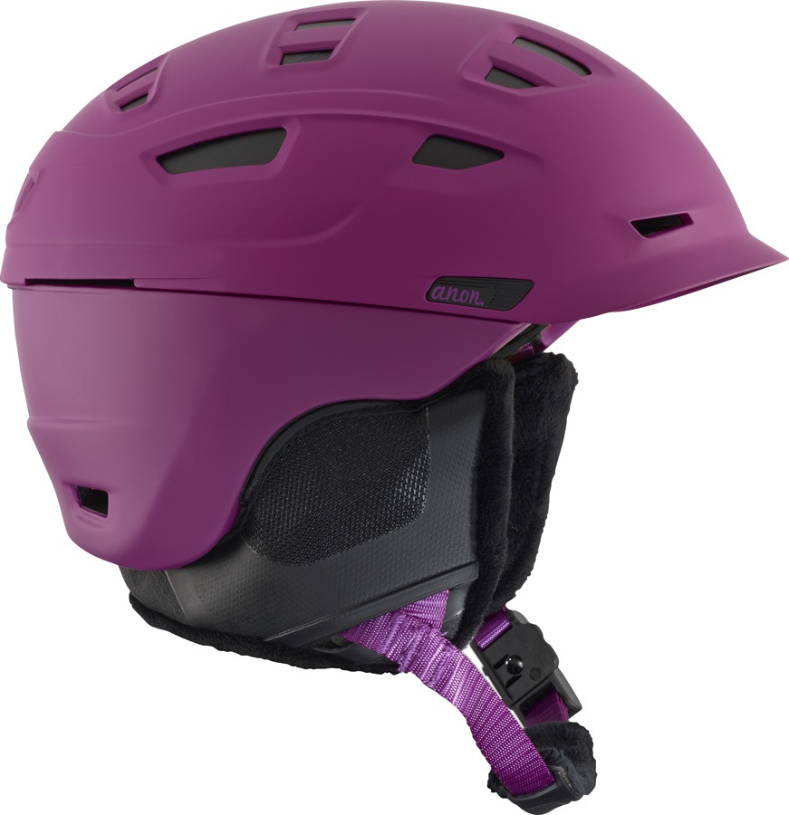 Anon Nova MIPS Women's Ski/Snowboard Helmet, L Purple