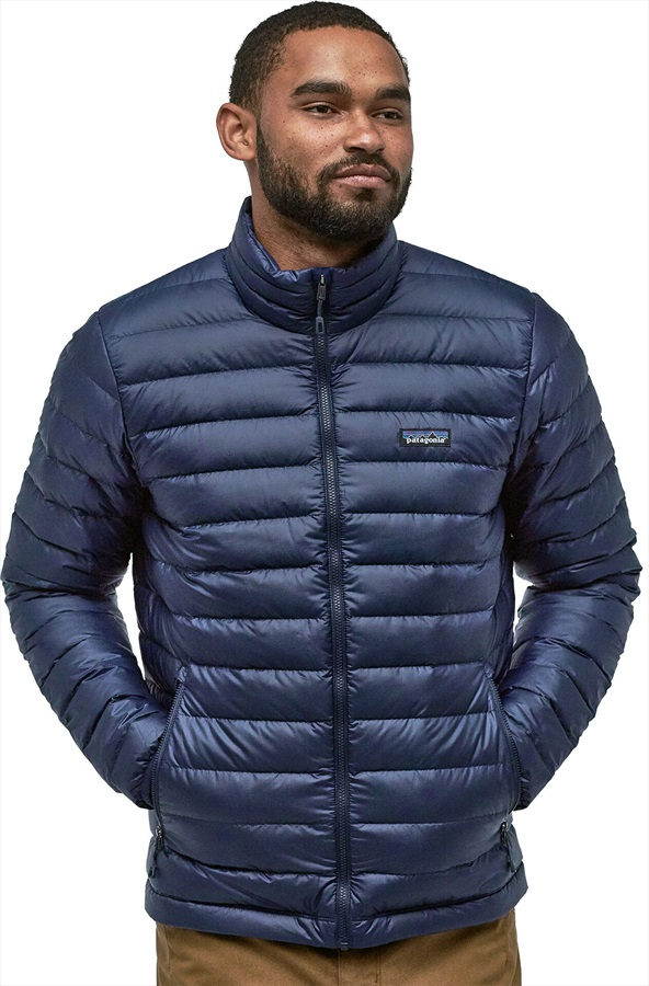 Patagonia Down Sweater Men's Insulated Jacket, S Classic Navy