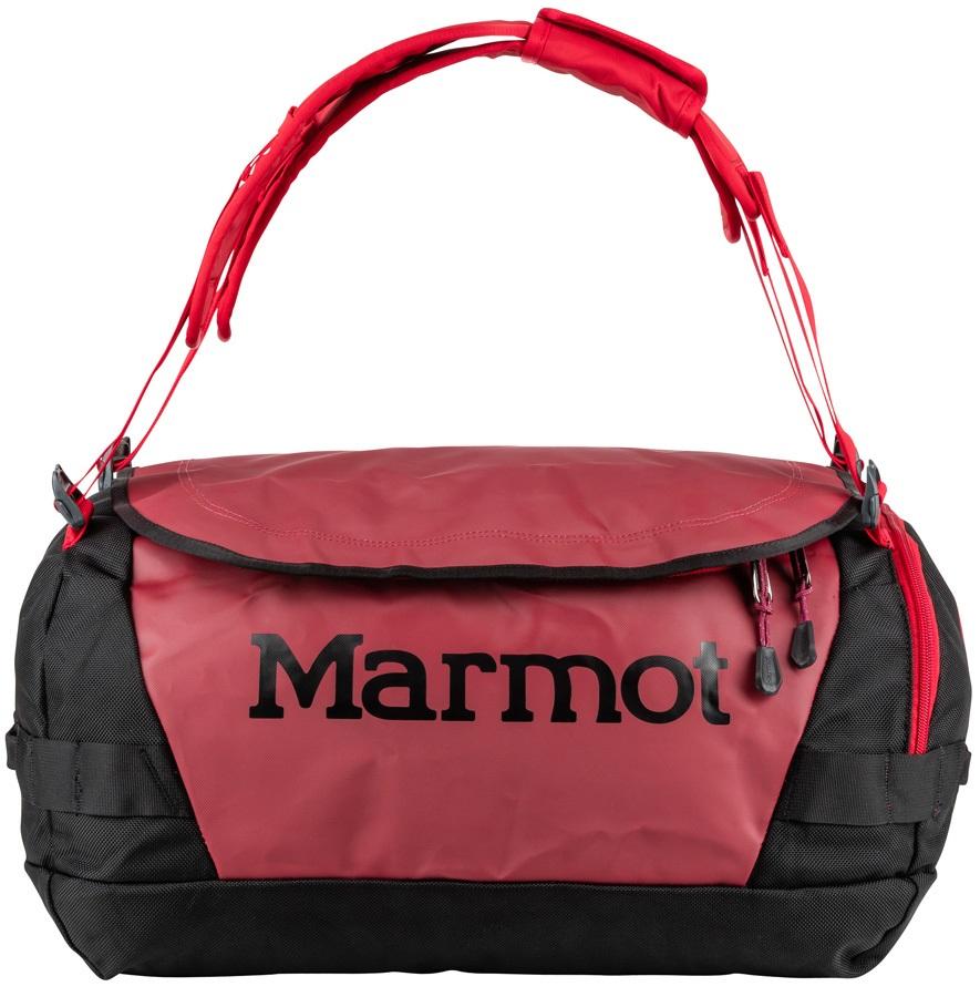 Marmot Long Hauler Duffel Travel Bag - 35L, Brick / Black