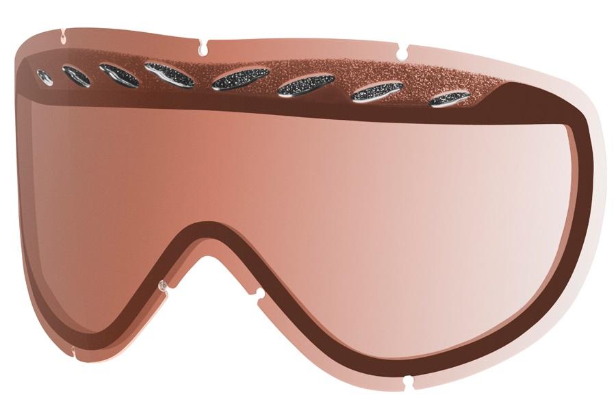Smith Transit Snowboard/Ski Goggle Spare Lens, RC36 Rose Copper