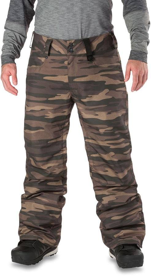 Dakine Artillery 2-Layer Shell Ski/Snowboard Pants, L Field Camo