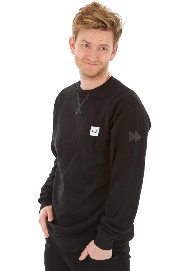FW Source Crew Neck Sweatshirt, XS Black