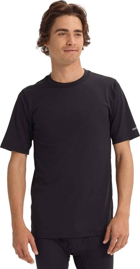 Burton Lightweight Tee Base Layer T-Shirt, XL True Black