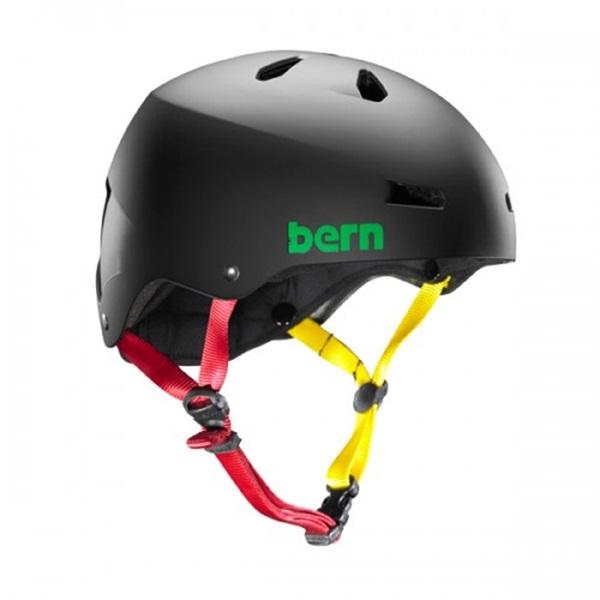 Bern Macon H2O Watersports Helmet, S Black Rasta