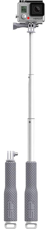 """SP POV Pole Telescopic GoPro Pole, 19"""", Silver"""