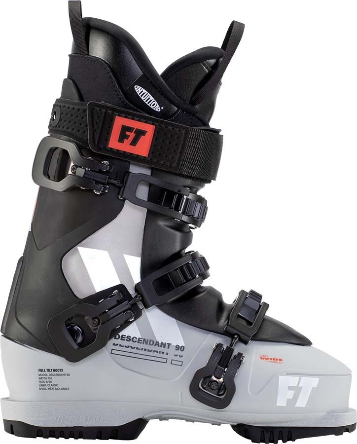 Full Tilt Descendant 90 Grip Walk Ski Boots, 25/25.5 Grey/Black 2021