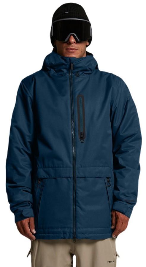 Volcom Deadly Stones Ski/Snowboard Jacket, L Blue