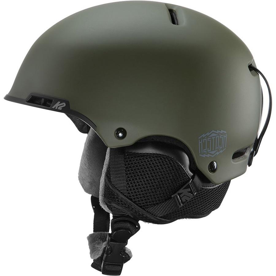 K2 Stash Snow/Bike Helmet, S Woodsman Green
