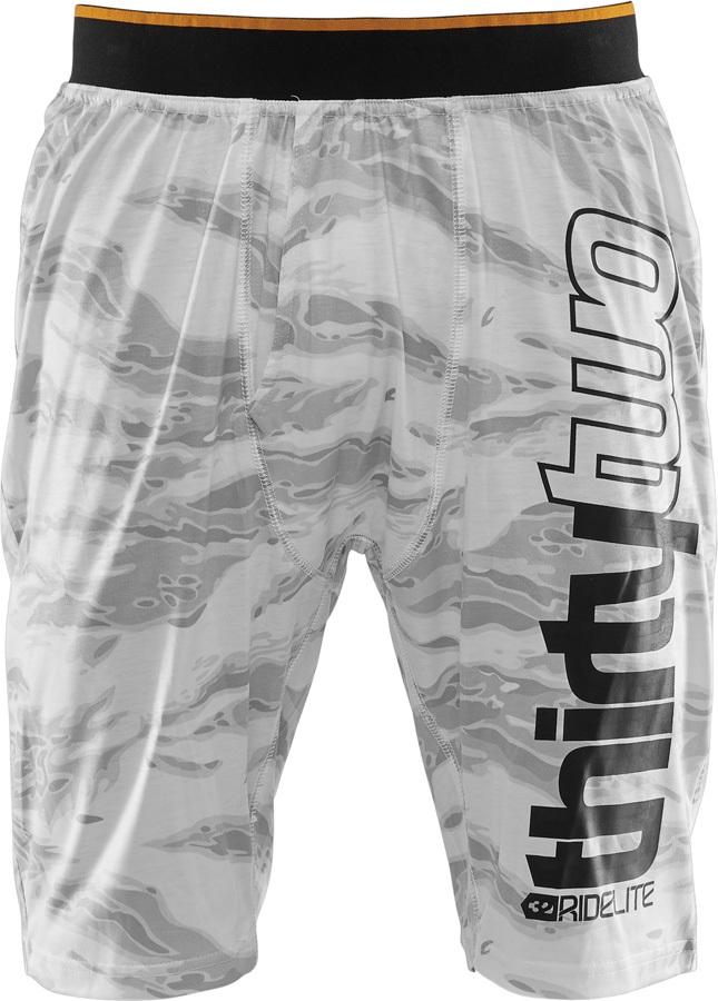 thirtytwo RideLite Thermal Base Layer Short, XXL White/Camo