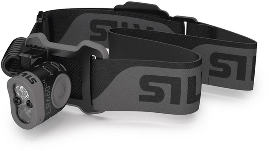 SILVA LR660 RC IPX6 Rechargeable Outdoor Headlamp, 660 Lumens Black