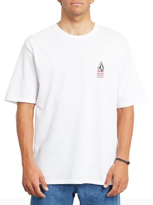 Volcom Bloxer RLX Short Sleeve T-Shirt, M White