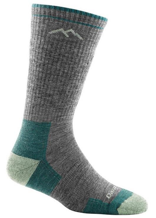 Darn Tough Womens Hiker Boot Full Cushion Women's Hiking Socks, S Slate
