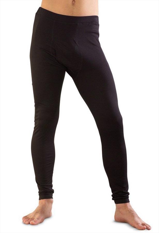 Silkbody Silkspun Legliner Baselayer Leggings, L Black