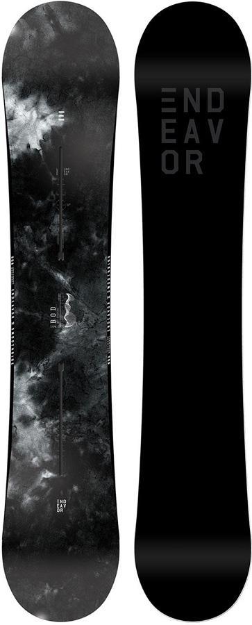 Endeavor BOD Board Of Directors Hybrid Camber Snowboard, 146cm 2019