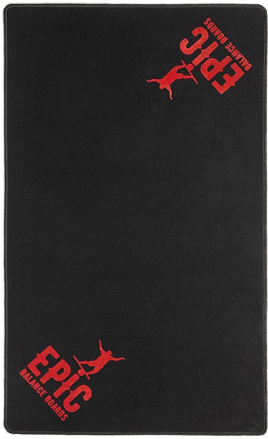 EPIC Balance Boards Roller Balance Training Mat, Black/Red