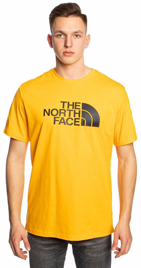 The North Face Adult Unisex Short Sleeve Easy Climbing T-Shirt, L Summit Gold