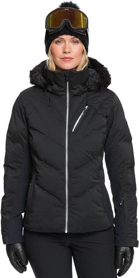 Roxy Snowstorm Women's Snowboard/Ski Jacket XS, True Black